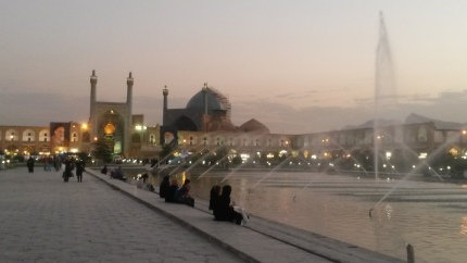 Imam Square in Isfahan, created in the Safavid period (c) MvdB